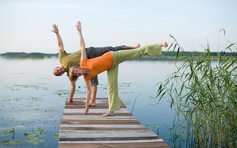 wakacje z jogą